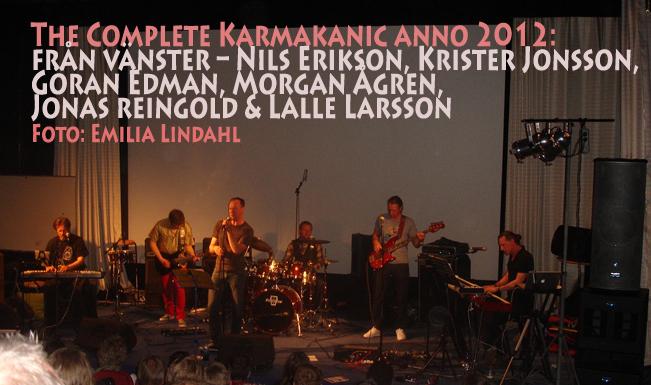 Kraft och kreativitet före karisma – Karmakanic levererade i Lidköping (1/2)